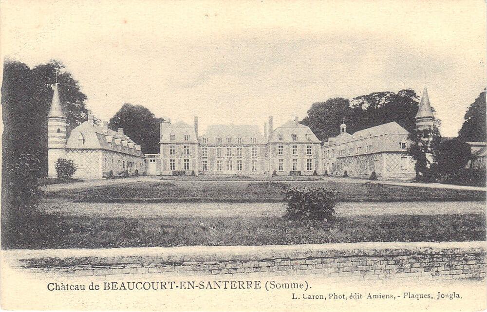 Chateau avant-guerre