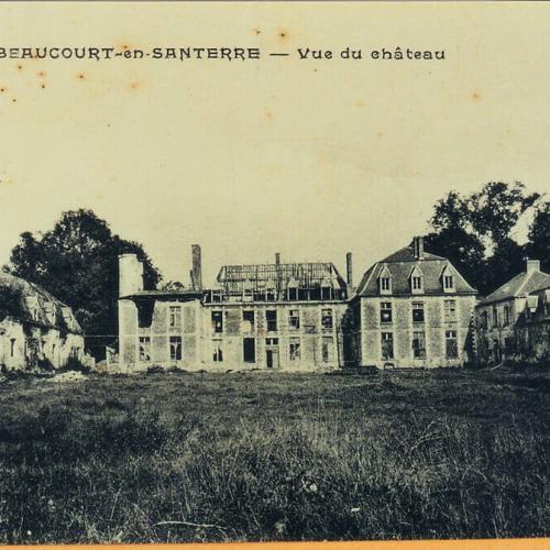 Chateau après-guerre