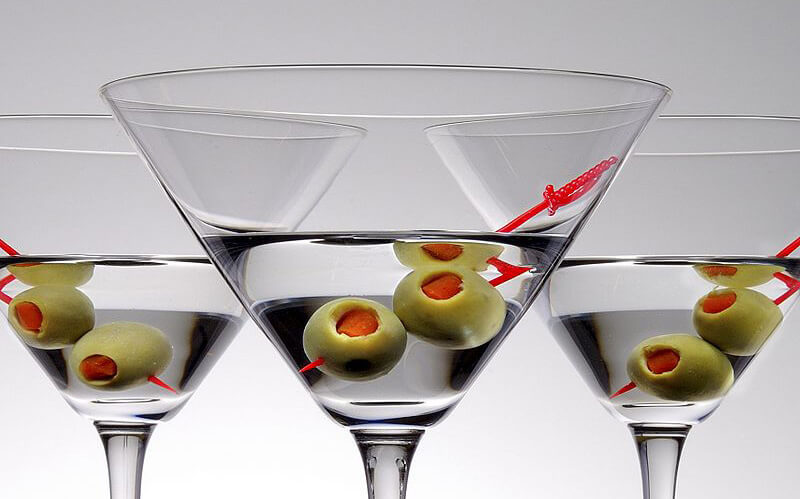 Gin martini test